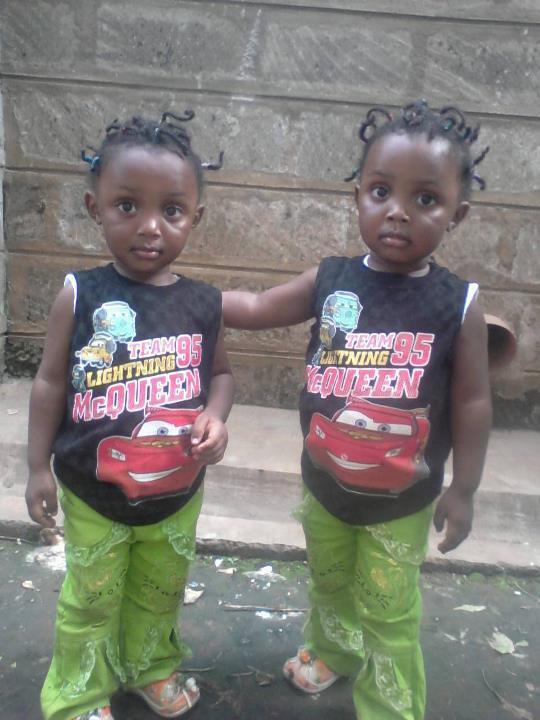 Diana Chelele identical twins 2