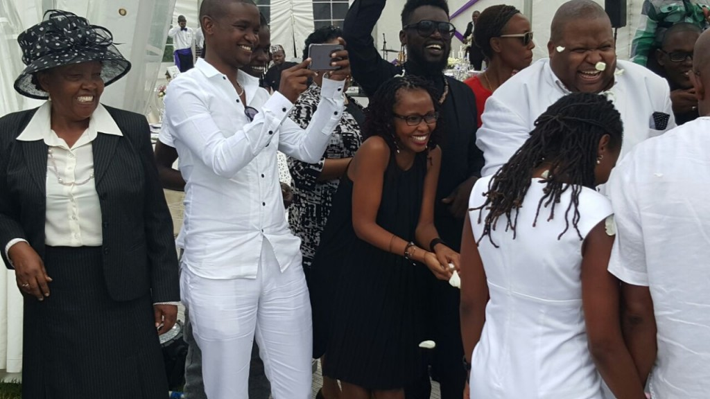 Photos Bob Collymore Weds Sweetheart In Private Ceremony