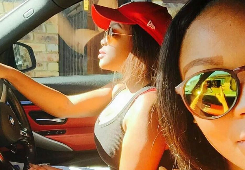Lighting Basement Washroom Stairs: Funny Photo: Light Skin Ladies Spotted 'Driving' Car With