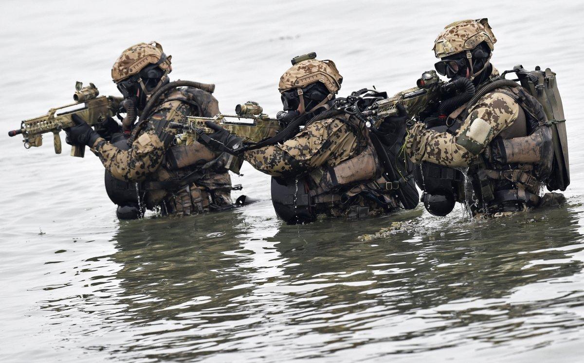 German special forces. (Fabian Bimmer/REUTERS)