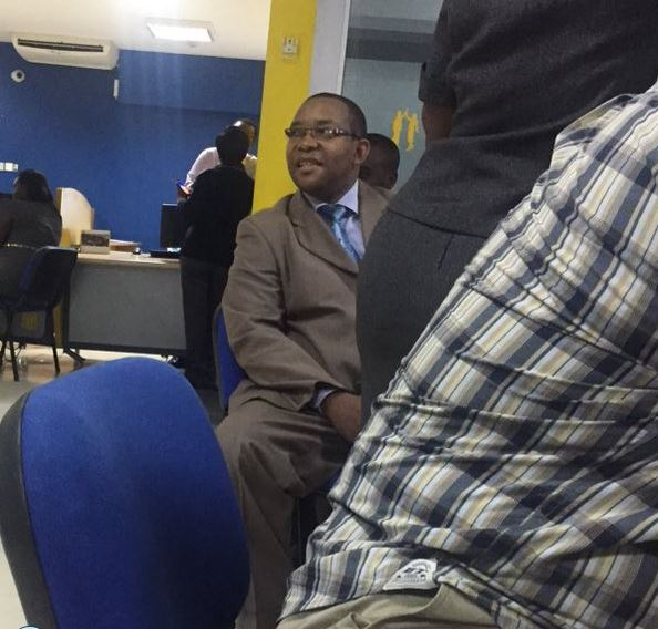 Swaleh Mdoe Spotted Withdrawing His Money From