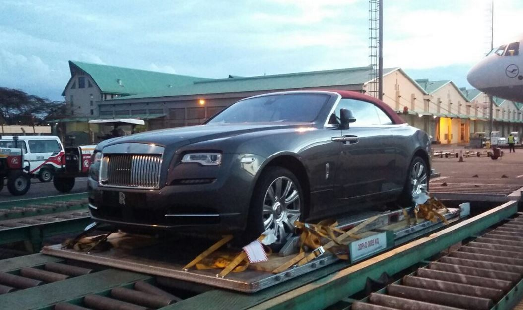 Kenyans Got Money 3 Brand New Rolls Royce Dawns Spotted
