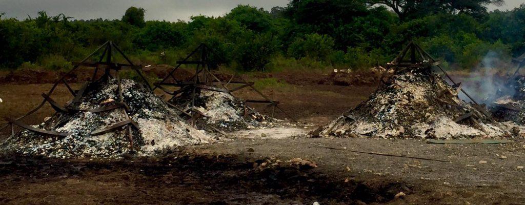 burn site