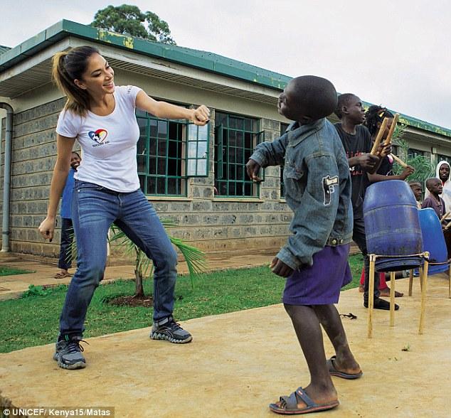 PUSSYCAT DOLLS Star, NICOLE SCHERZINGER Reveals That Her Visit To NAIROBI SLUMS Was Rather TRAUMATIC! (PHOTOS)