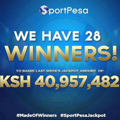 Lucky or Unlucky? 28 SportPesa Jackpot Winners Share Sh40