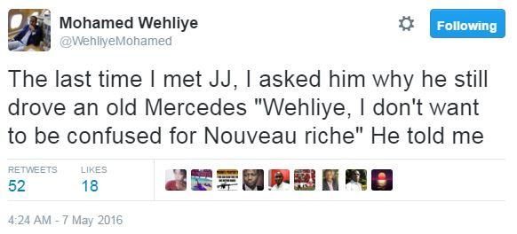 Close Friend Reveals Why Billionaire Jacob Juma Drove an Old Mercedes