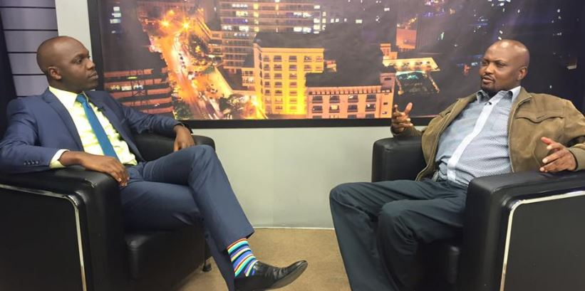 VIDEO:The Interview Everyone's Talking About. Larry Madowo vs Moses Kuria
