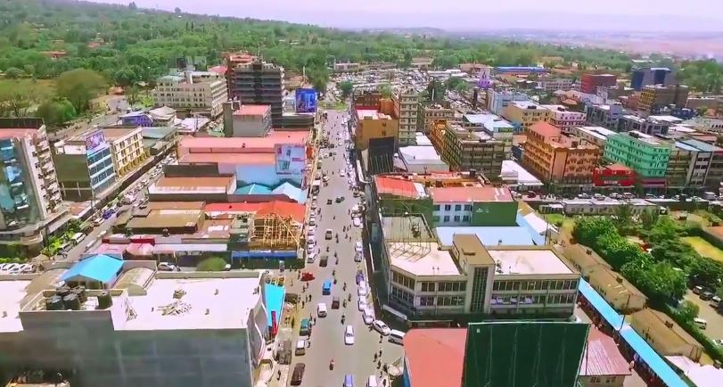 Incredible Drone VIDEO of Nakuru Shows Why It's The Most Beautiful Town in Kenya