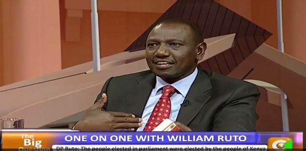 Ruto: I Have a Problem With CJ Willy Mutunga Wearing an Earring (VIDEO)