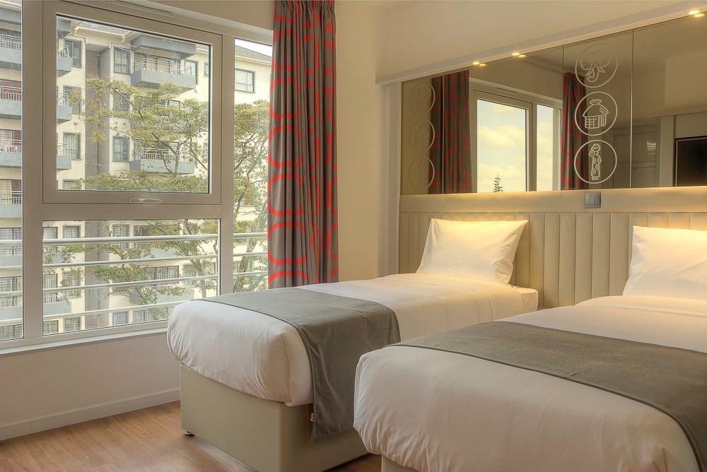 Tune Hotel Twin Room