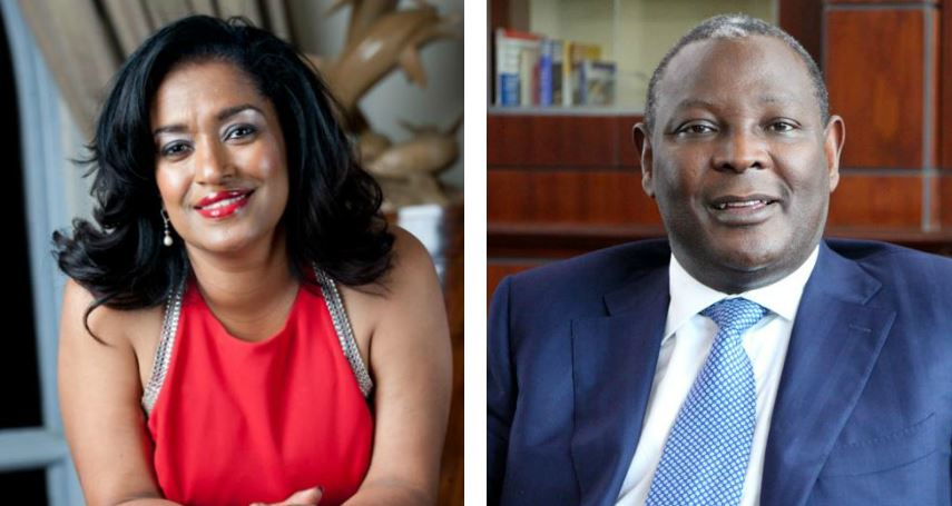 james mwangi - Esther Passaris 1