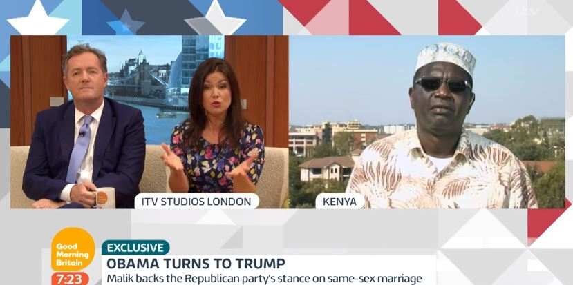VIDEO:Watch Piers Morgan Interview Malik Obama from Nairobi