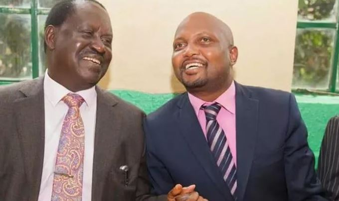 Moses Kuria Throws His Support Behind Raila