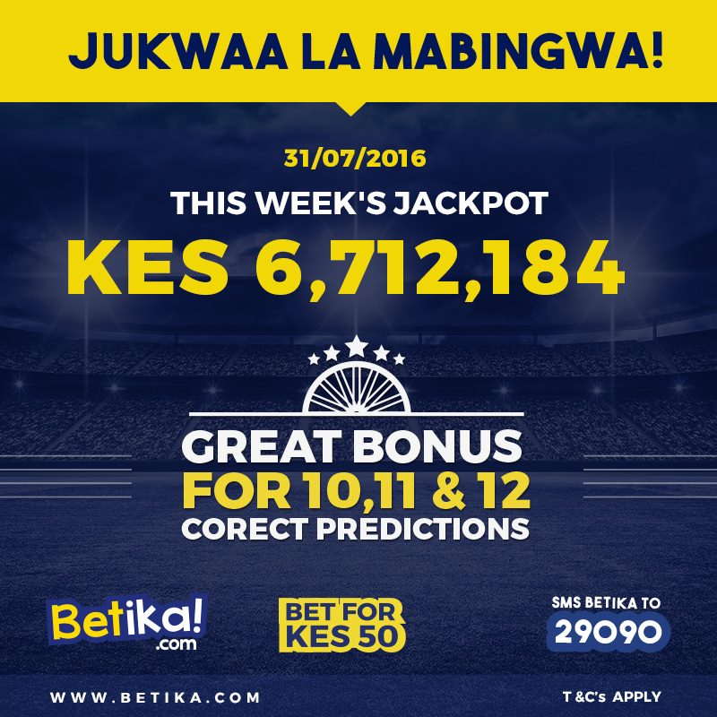 Suffering from Low Bonus Winnings? See What Betika is Paying Out