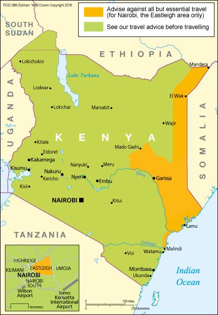 FCO 285 - Kenya Travel Advice Edition 16 [WEB]