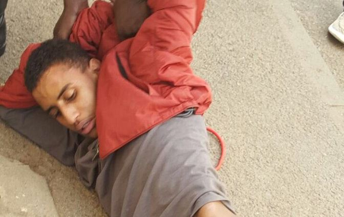 Ktn Actor Roughed Up By Nyayo Estate Watchmen  Photos
