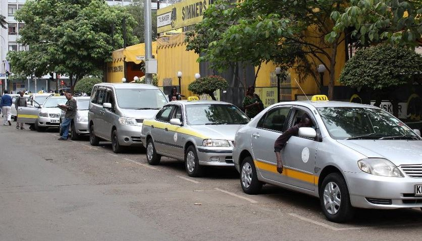 Taxi drivers in Nairobi (Photo//the Star)