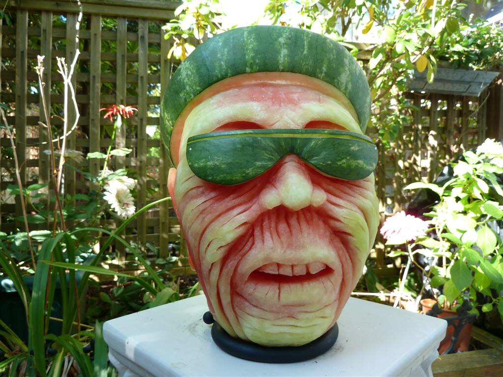 These watermelon carvings will blow your mind
