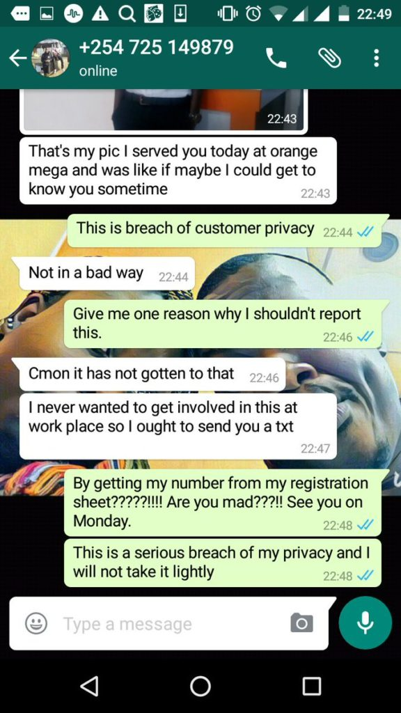 Orange customer care 39 fisi 39 exposed for breaching privacy for Bhg customer service phone number