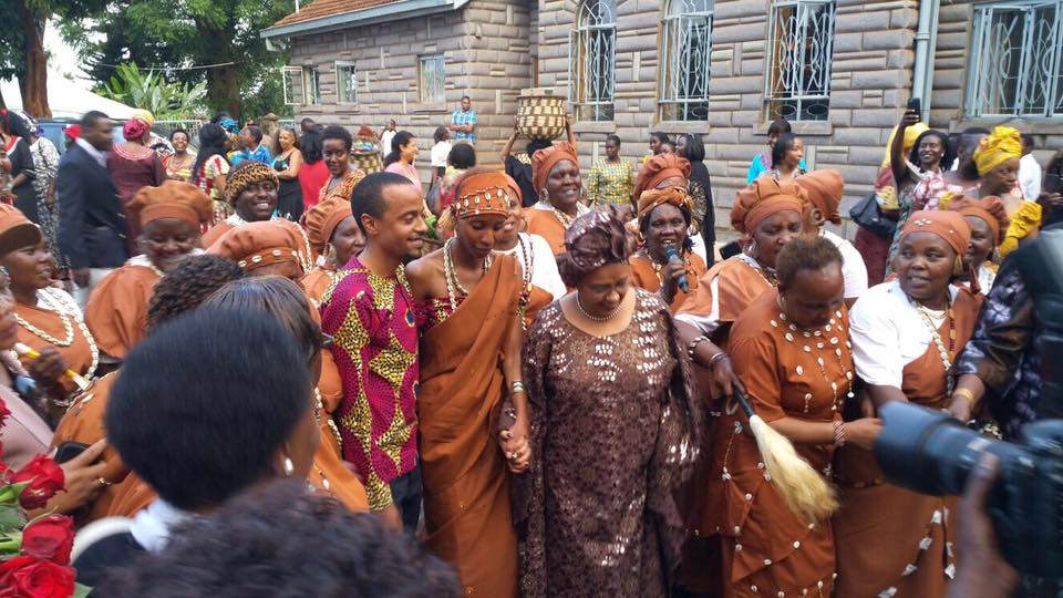 PHOTOS - First Son Jomo Kenyatta Holds Another Kikuyu Traditional