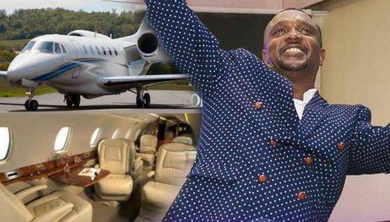 Image result for Bishop Allan Kiuna jet