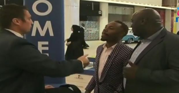 Hilarious Video: Sleepy David's cruel prank that unfolded on live TV