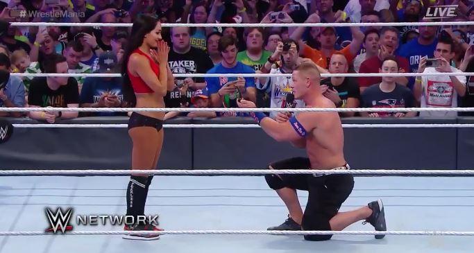 VIDEO: John Cena Proposes To Longtime Girlfriend at ...