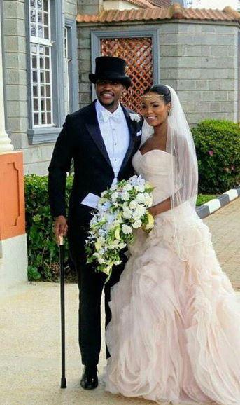 Photos Grace Msalame S Ex Paul Ndichu Weds Evaline In
