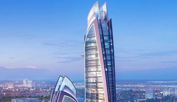 Photos  U2013 President Uhuru Lays Foundation Stone For Africa U2019s Tallest Skyscraper