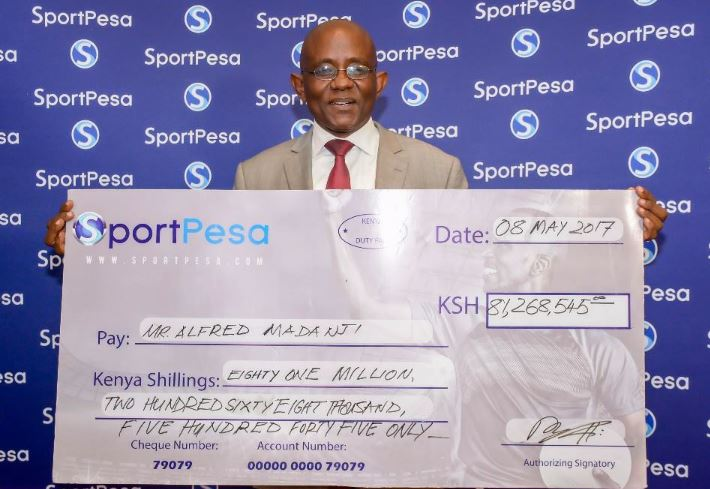 Jackpot Winner Withdrew Sh 50K at the ATM Just to Confirm He Had Won, Sh81 Million