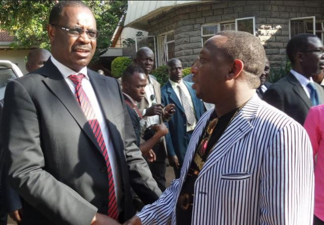 "Governor Kidero Takes Swipe at ""Comedian"" Mike Sonko"