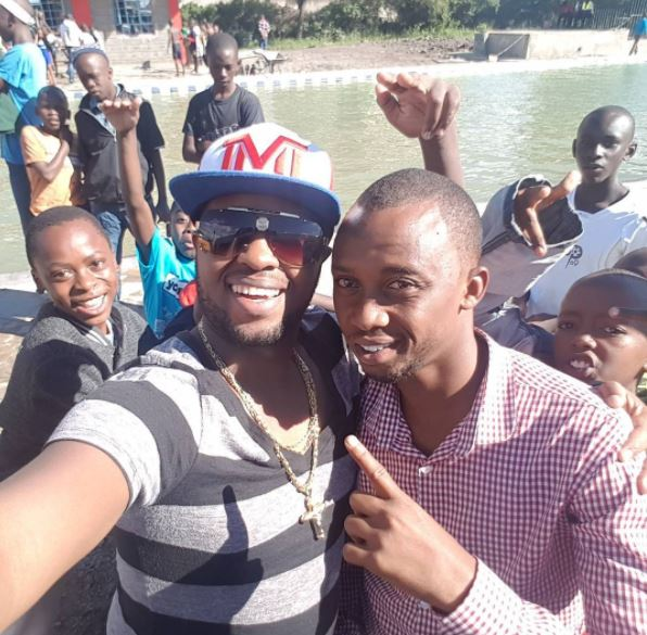 Mp George Theuri Opens Free Swimming Pool In Umoja Amid Water Rationing It 39 S Floor Reads 39 Swag