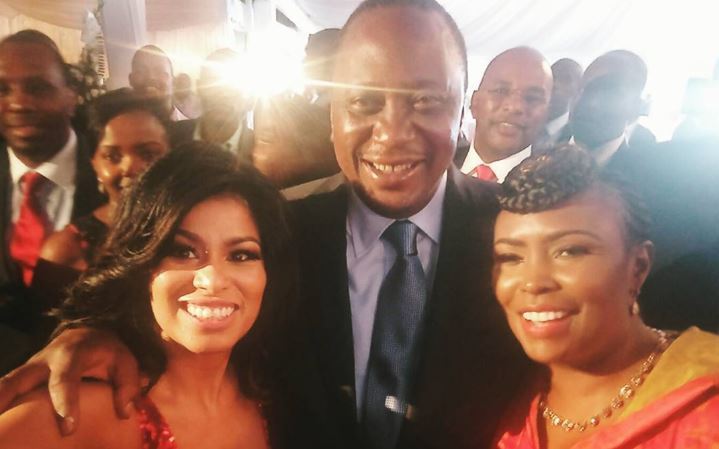 "Julie Gichuru: ""I Choose To Support Uhuru and You Will Not Bully Me"