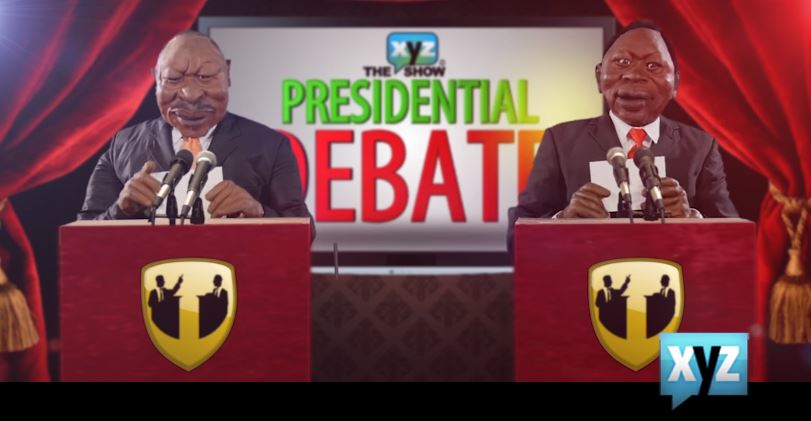 Since The Presidential Debates Have Flopped, Watch This Hilarious one By XYZ