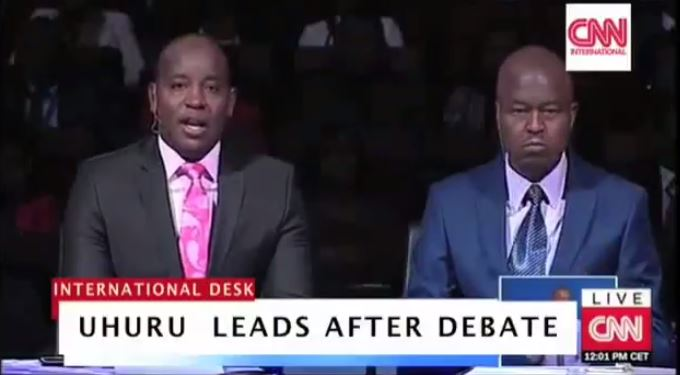 CNN VIDEO: Most Creative Fake News – Uhuru leads Raila after Debate