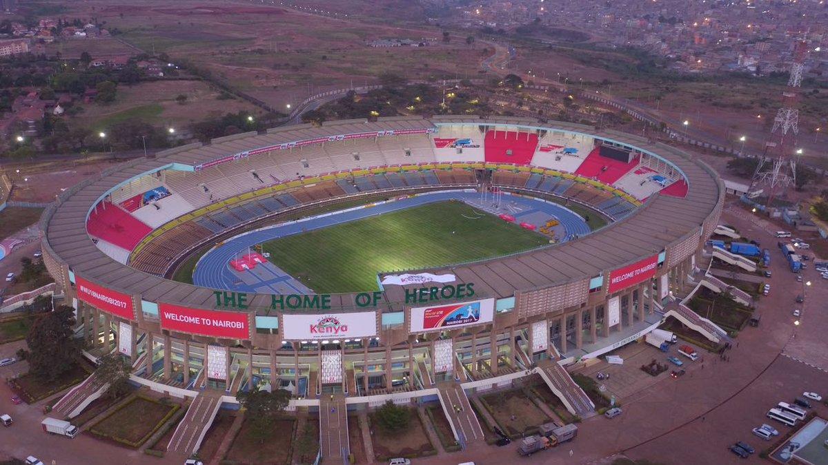 Let the Games Begin - Safaricom Stadium Kasarani Looks ...