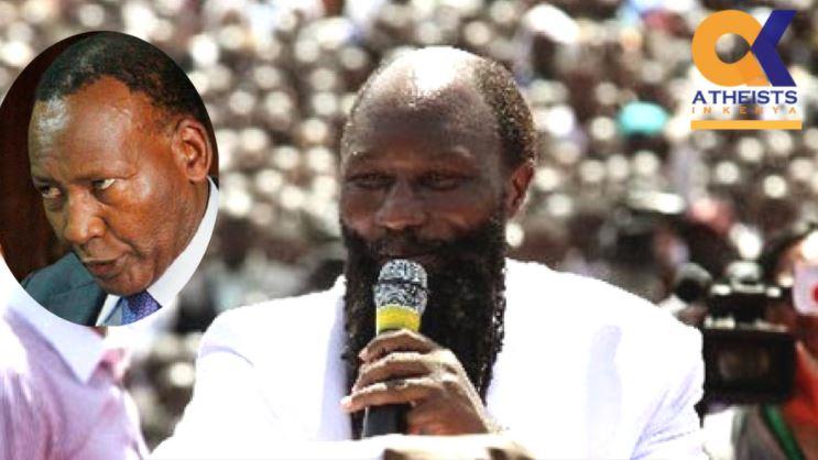 Resurrect Nkaissery or Shut Up.' Kenyan Atheists Tell Prophet Owuor