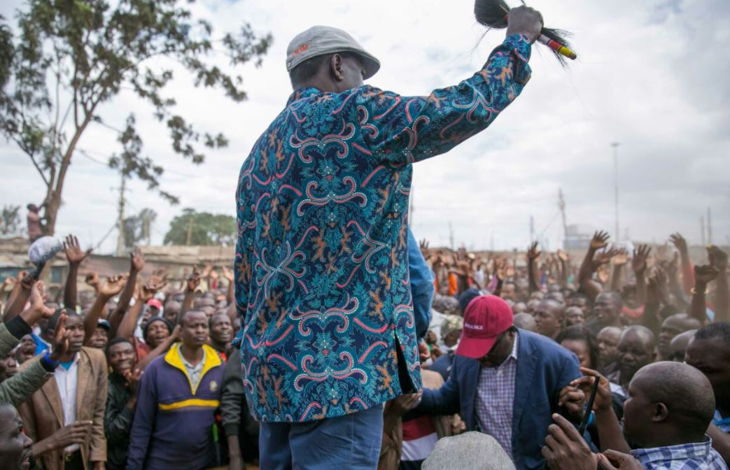 Defeated, Desperate and Isolated… Raila is Fighting a Losing Battle