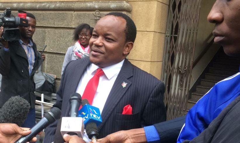 """Ngunjiri Wambugu: """"Maraga Must Stop Trying to Intimidate Kenyans"""""""