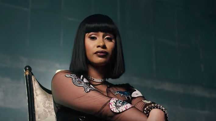Cardi B Rapping: American Rapper Cardi B Acknowledges Love From A Kenyan Matatu