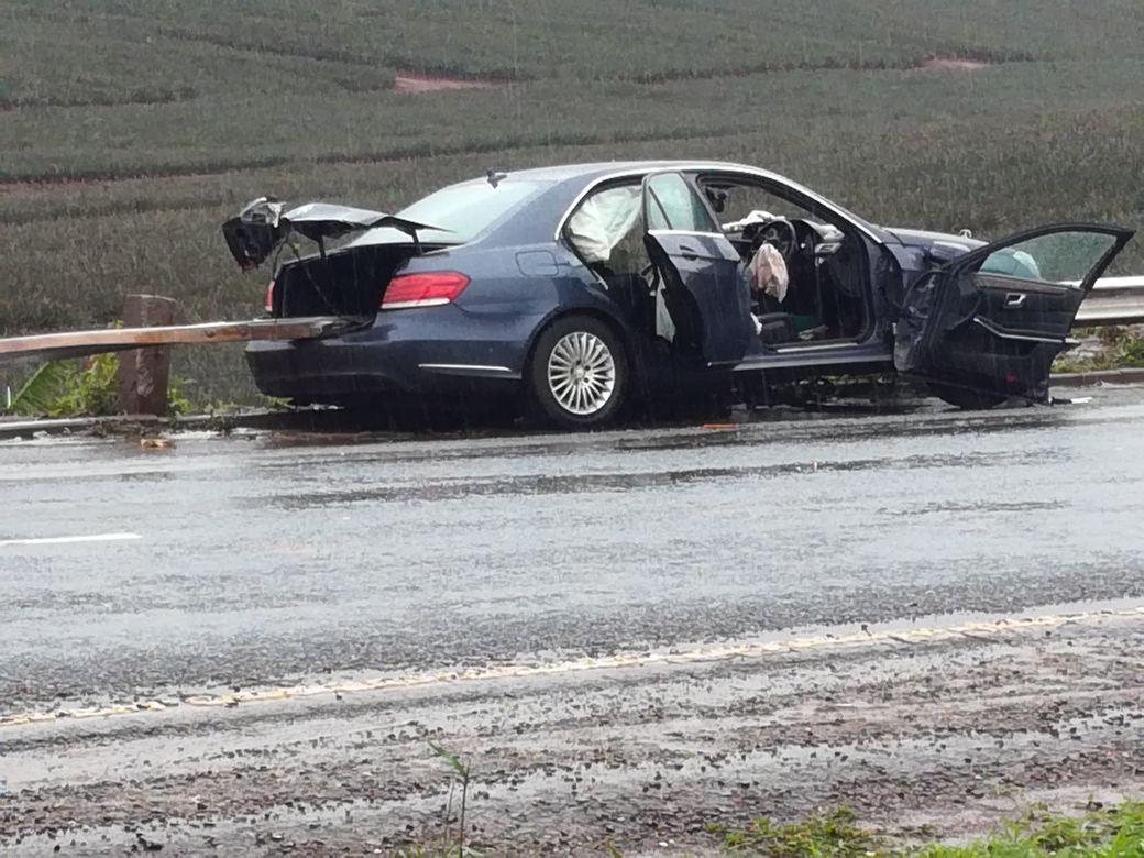 M Car Accident Mercades Benz  November