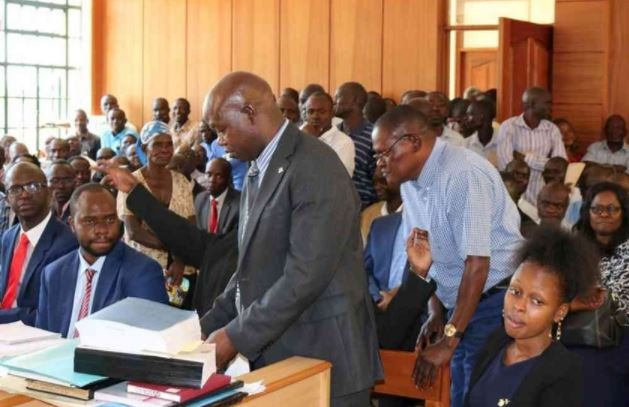 LoL! Drama in Kisumu Court as Witness is Taken to Cell For Calling Lawyer 'My dear'
