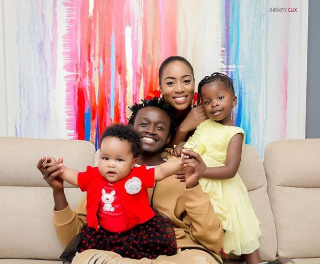 PHOTOS - Bahati's Daughters Finally Meet and It's Beautiful