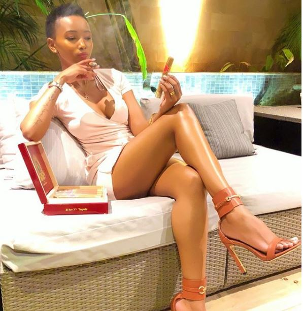 Image result for huddah monroe cigars