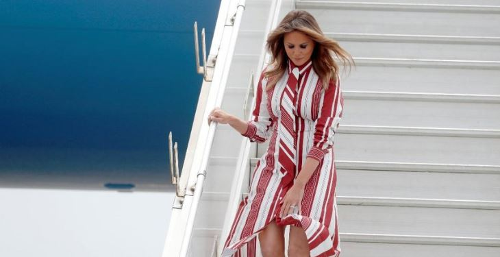 Melania Trump visits Kenya and Malawi on Africa tour