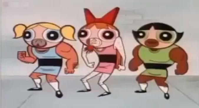 We've Found the Luhya Version of Powerpuff Girls and It Will