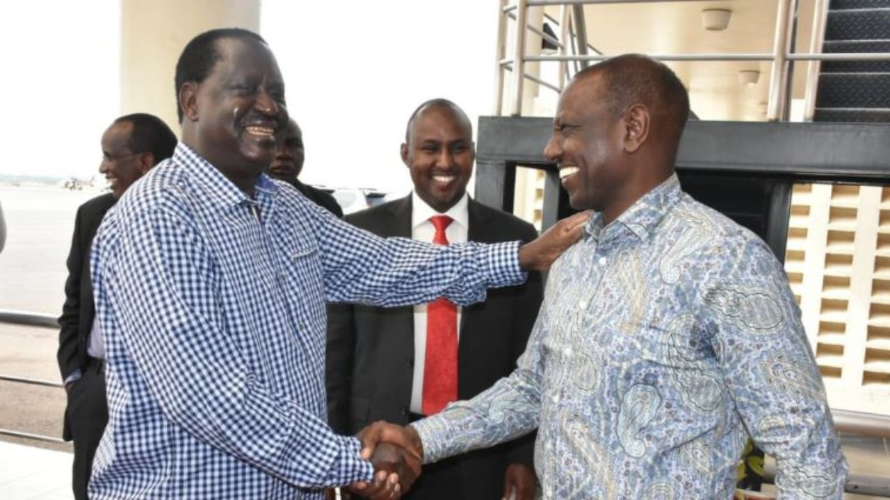 DP Ruto Quashes Rivalry with Raila During Uhuru's Kisumu Visit – VIDEO