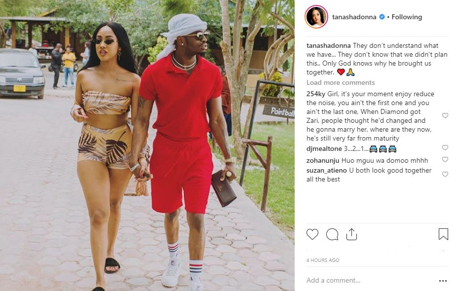 Tanasha Shares First PHOTOS with Diamond Platnumz as Singer Rides