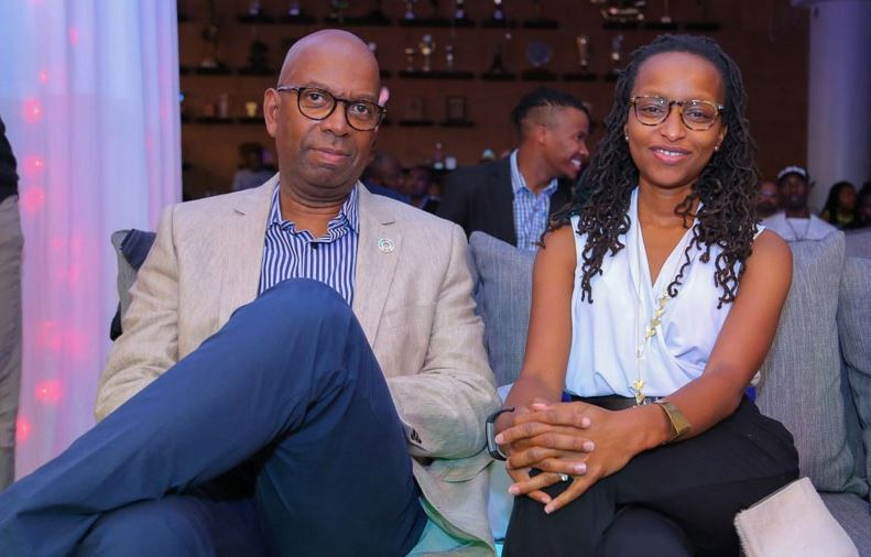 Bob collymore and wife