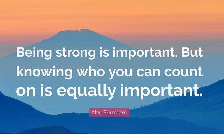 Quotes about being strong